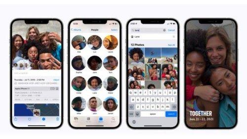 Künstliche Intelligenz: iOS 15 kann Gesichter selbst mit Maske erkennen