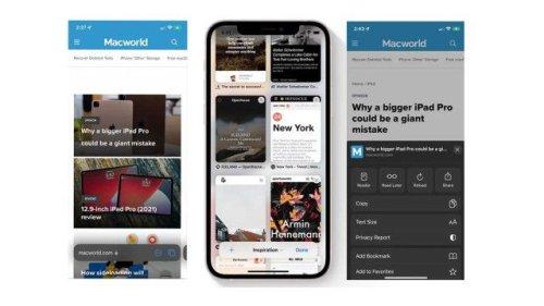 iOS 15: Selbst Apple-Mitarbeiter sind vom neuen Safari verwirrt
