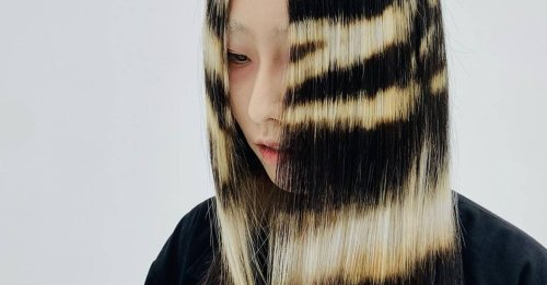 Fabric-bleached hair is going viral on TikTok and it's making us want to experiment