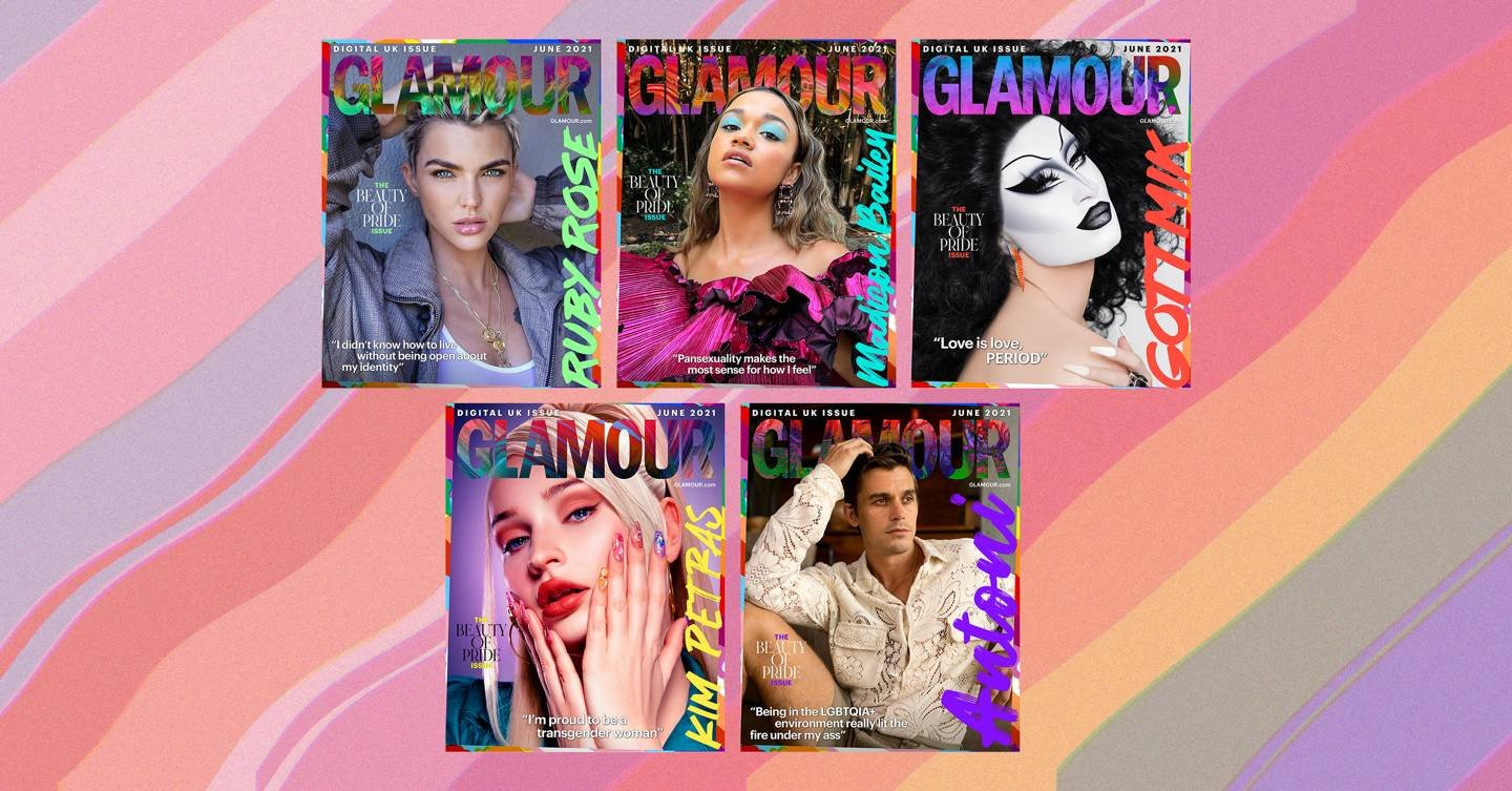 Welcome to GLAMOUR's Beauty of Pride June issue