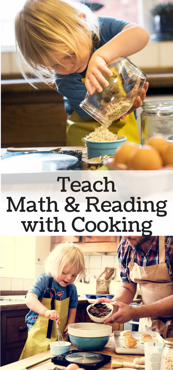 Teaching Math and Reading through Cooking