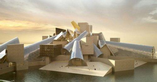 Nouveau chef-d'œuvre de Frank Gehry, le musée Guggenheim d'Abu Dhabi ouvrira dans 5 ans   Connaissance des Arts
