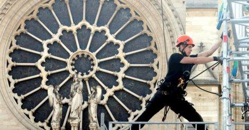 Chantier de Notre-Dame de Paris : fin des travaux de sécurisation et début d'une campagne de soutien aux métiers d'art et du patrimoine   Connaissance des Arts