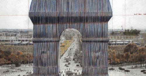 Arc de Triomphe empaqueté : le rêve de Christo deviendra enfin réalité cet automne   Connaissance des Arts