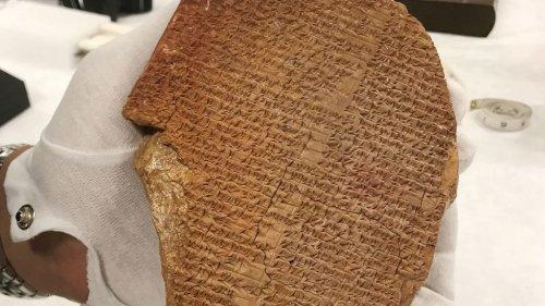 Archéologie : les États-Unis restituent à l'Irak 17000 objets volés   Connaissance des Arts