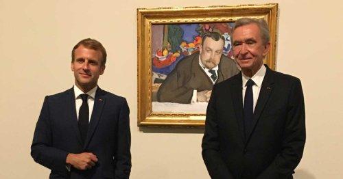 « Cette âme profonde et ces regards croisés » : Emmanuel Macron inaugure l'exposition Morozov à la Fondation Louis Vuitton   Connaissance des Arts