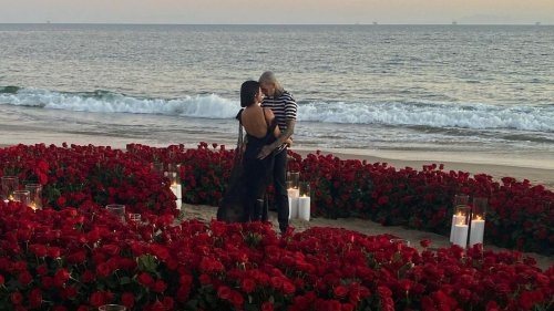 Travis Barker and Kourtney Kardashian are engaged