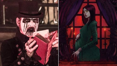 King Diamond and Z2 Comics partner for graphic novel adaptation of classic Abigail album