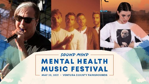Sound Mind announces Mental Health Music Festival with Fitz and the Tantrums, All Time Low, IAN SWEET