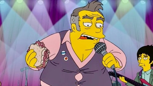"""Morrissey says he'd sue The Simpsons for slander, but """"it requires more funding than I could possibly muster"""""""