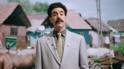 "Borat laments over ""stolen election"" in trailer for Borat Supplemental Reportings: Watch"