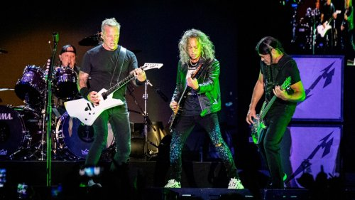 """Metallica perform """"The Black Album"""" in full from back to front at Louder Than Life"""