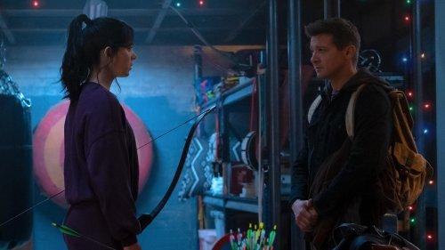 Clint Barton's Hawkeye meets Kate Bishop's Hawkeye in first look at Disney+'s Hawkeye