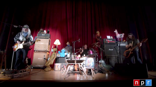Dinosaur Jr. bring the noise at NPR Tiny Desk (Home) Concert: Watch