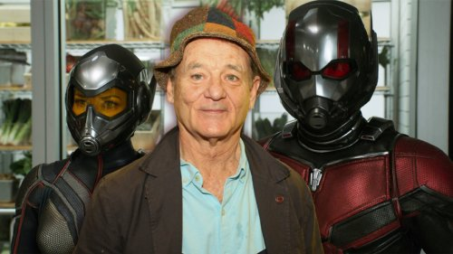 Bill Murray lets slip that he's in Ant-Man and the Wasp: Quantumania