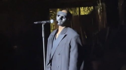 Kanye West gives rare live performance at Italian wedding: Watch