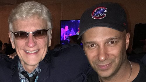 """Former Styx singer Dennis DeYoung teams up with Tom Morello for new song """"The Last Guitar Hero"""": Stream"""
