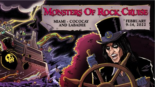 2022 Monsters of Rock Cruise to feature Alice Cooper, Queensrÿche, Skid Row, and many more