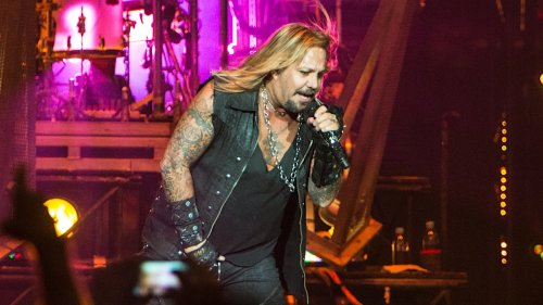 Vince Neil rushed to hospital after falling off stage: Watch