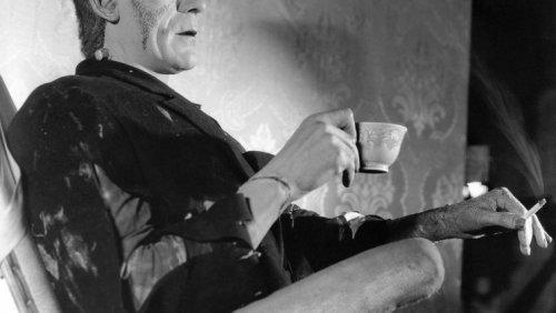 Vintage photos of Boris Karloff on the set of Frankenstein | Considerable