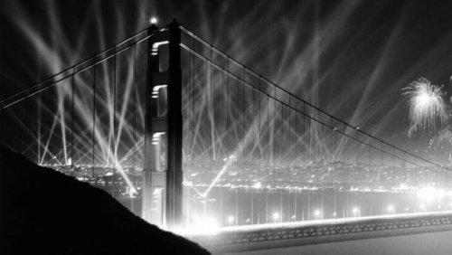 Vintage photos show the construction of the Golden Gate Bridge   Considerable