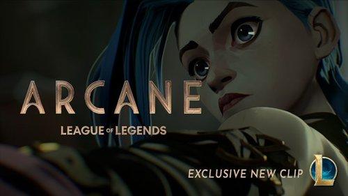 Arcane : De nouvelles images pour la série animée événement de Riot Games !
