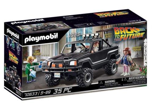 Notre sélection GEEK du jour : Playmobil du Pick-up de Marty dans Retour vers le Futur - 09/04