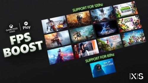 Xbox Series X|S : 13 jeux EA bénéficient du FPS Boost ! A vous le 120 FPS !!!!