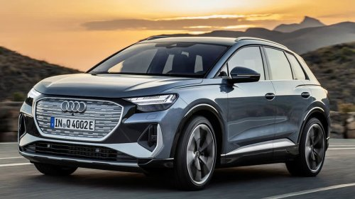 Audi Electrifies Its Compact SUV Lineup With the Q4 E-tron and Q4 E-tron Sportback