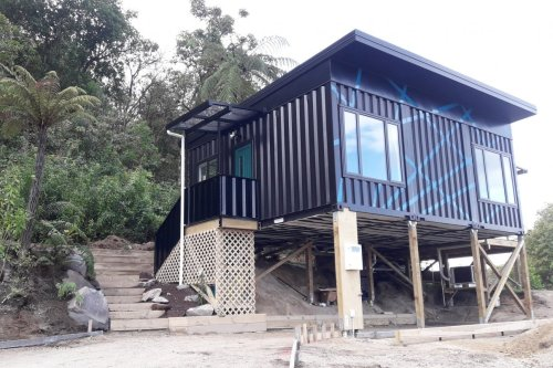 IQ Taupo Container House – New Zealand