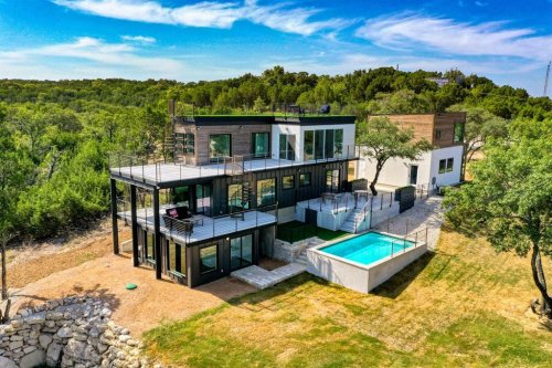 One of the Most Beautiful Houses Built with Shipping Containers in the World