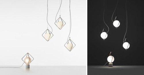 Lucie Koldova Has Designed Jack o'Lantern Lamps For Brokis