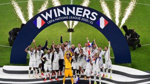 Ligue des Nations : la France rentre un peu plus dans l'histoire   Goal.com