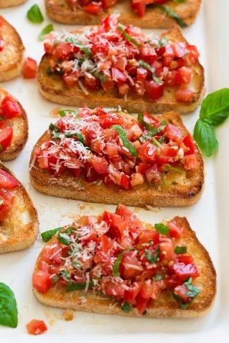 Easy Bruschetta Recipe