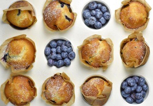 Heidelbeer-Muffins – einfaches Muffin Rezept, besonders saftig