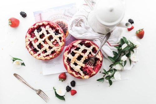 Beerenkuchen – sommerliches Kuchen Rezept mit süßen Beeren