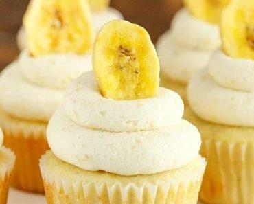 Easy Banana Cream Pie Cupcakes