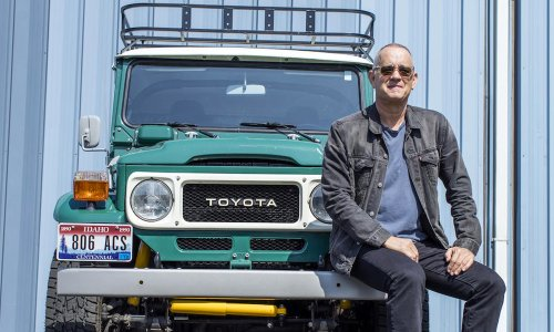 You Can Buy Tom Hanks' Toyota Land Cruiser and Airstream Trailer at Auction | Cool Material