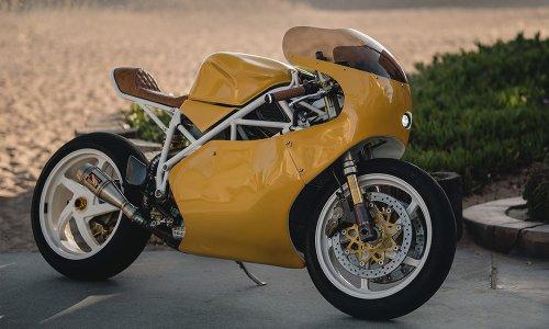 Upcycle Motor Garage Ducati 998 Retro Sportbike | Cool Material