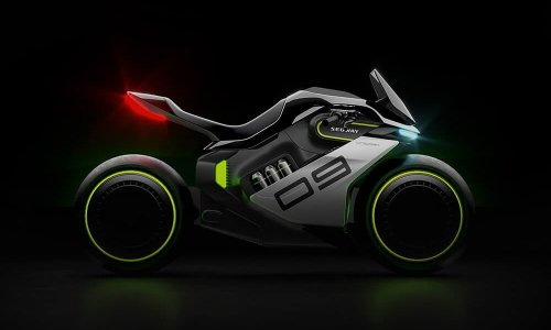 Segway Apex H2 Hydrogen-Powered Motorcycle Concept | Cool Material