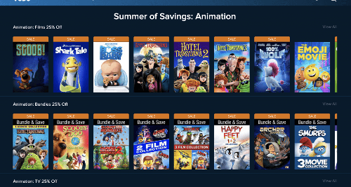 Snag Select Animated Titles On Sale at Vudu and FandangoNOW | Cord Cutters News