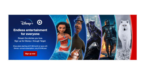 Limited Deal: Target Customers Save 25% on a Disney+ Annual Subscription