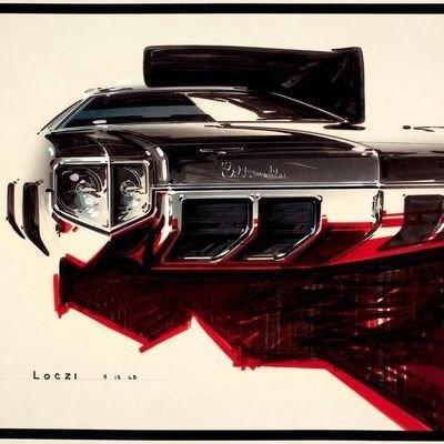 Killer Throwback 1960s Car Renderings by Geza Loczi - Core77