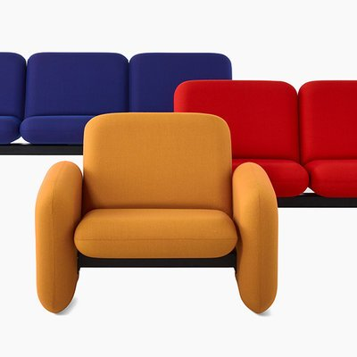 """Herman Miller Re-Releases """"Chiclet"""" Sofas from 1976 - Core77"""