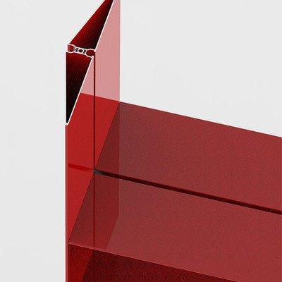 Alexandra Gerber's Up Shelving System Features Sliding, Infinitely-Adjustable Metal Shelves - Core77