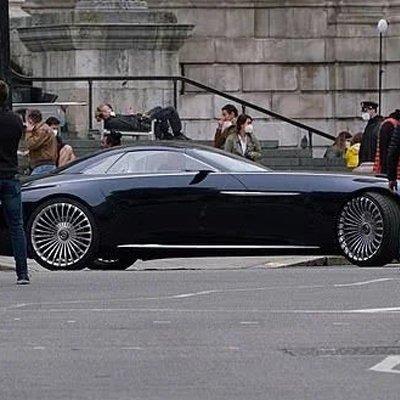 Batman Ditches Batmobile, for Vision Mercedes-Maybach 6 - Core77