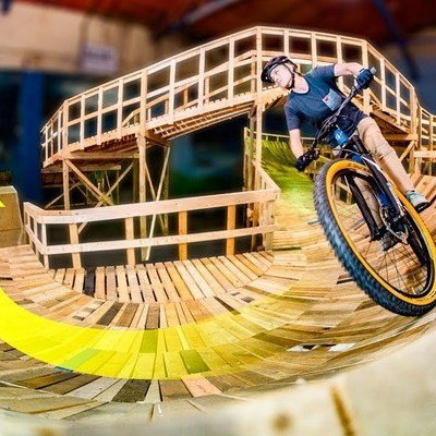 Check Out the World's Longest Indoor Mountain Bike Trail - Core77