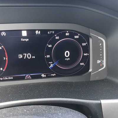An Example of Terrible UI Design: The Gas Gauge in the Volkswagen Atlas - Core77