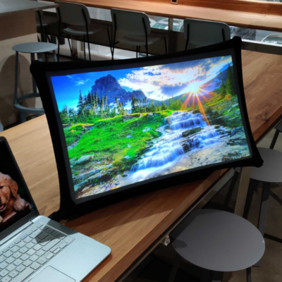 Book-Sized Object Unfolds Into Flexible Monitor, Also Doubles as Projector - Core77
