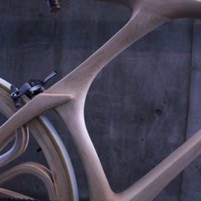 A Beautiful Bicycle Made of Wood, Wheels and All - Core77